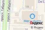 Схема проезда до компании Вещь в Альметьевске