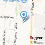 Елховнефть на карте Альметьевска