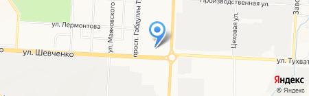 Альметьевский медицинский колледж на карте Альметьевска