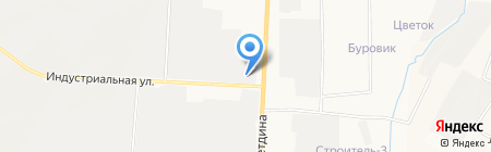 ТатАИСнефть на карте Альметьевска
