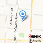 Средняя общеобразовательная школа №16 на карте Альметьевска