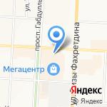 Быстроденьги на карте Альметьевска