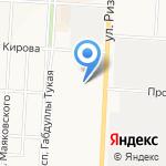 Одуванчик на карте Альметьевска