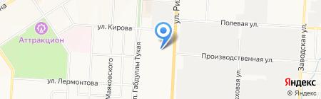 Детский сад №32 Одуванчик на карте Альметьевска