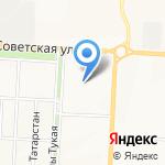 Административно-хозяйственное управление Альметьевского муниципального района на карте Альметьевска