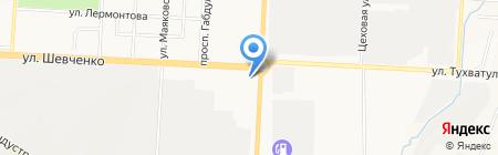 ТатАЗС Комплект на карте Альметьевска