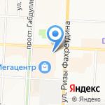 АКИБ АКИбанк на карте Альметьевска