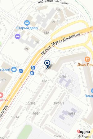 АПТЕКА ИМИНЛЕК на карте Набережных Челнов