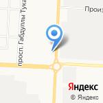 Караван на карте Альметьевска