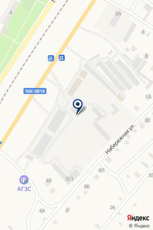 ТЕХНОСНАБСЕРВИС на карте Менделеевска