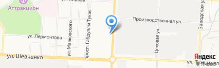 Отдел образования на карте Альметьевска