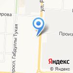 ЦЕНТР ПОДГОТОВКИ КАДРОВ-ТАТНЕФТЬ на карте Альметьевска