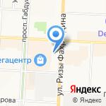 Базар на карте Альметьевска