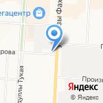 Гимназистъ на карте Альметьевска