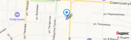 Магазин женской одежды и сумок на ул. Девонская на карте Альметьевска