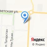 Департамент жилищной политики и ЖКХ на карте Альметьевска
