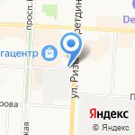 Алия на карте Альметьевска