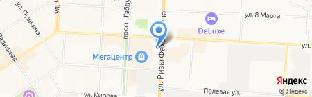 Компания МЭЛТ на карте Альметьевска