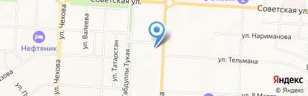 Автоюрист на карте Альметьевска