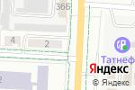 Схема проезда до компании Гимназистъ в Альметьевске