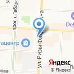 DE LUXE на карте Альметьевска