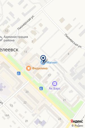 ДЕТСКИЙ САД № 8 на карте Менделеевска