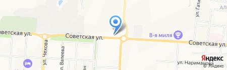 АЗС Лукойл на карте Альметьевска