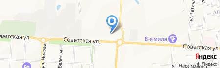 Хаят на карте Альметьевска