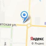 Автодорстрой на карте Альметьевска