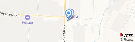 Автоцентр на карте Альметьевска