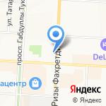 Детская библиотека №7 на карте Альметьевска