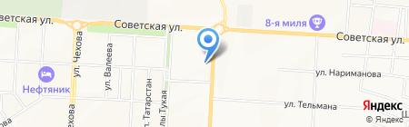Фейерверк мастер на карте Альметьевска