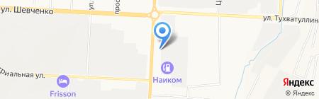 Али-баба на карте Альметьевска