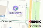Схема проезда до компании Альтернатива в Альметьевске
