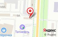 Схема проезда до компании ТРАНСТЕХСТАНЦИЯ в Альметьевске