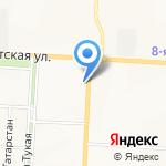 Сеть платежных терминалов на карте Альметьевска