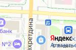 Схема проезда до компании Строй-мастер в Альметьевске