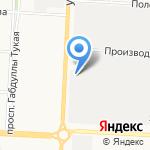 Столовая №19 на карте Альметьевска
