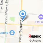 Остров свободы на карте Альметьевска