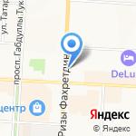 Цветочный магазин на карте Альметьевска