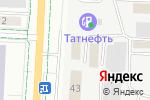 Схема проезда до компании Городское управление автомобильных дорог, МУП в Альметьевске