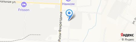 Лицей-интернат №1 г. Альметьевска на карте Альметьевска