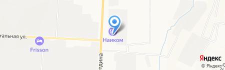 Исток на карте Альметьевска