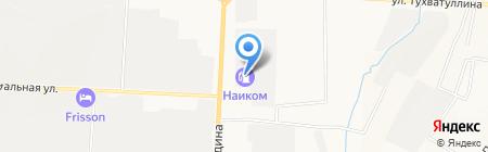 АЗС АТК на карте Альметьевска