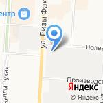 Tatneft на карте Альметьевска