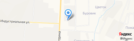 Двойка на карте Альметьевска