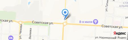 Альянс на карте Альметьевска
