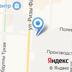 Смальта на карте Альметьевска