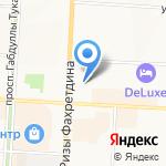 Магазин антиквариата на карте Альметьевска