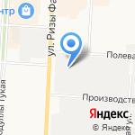 Шамирам на карте Альметьевска
